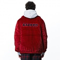 [065]SLOGAN FUR HEAVY JACKET(RED)