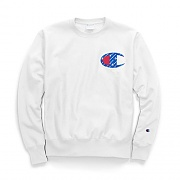 (GF70)RW SUBLIMATED C LOGO CREW-WHITE