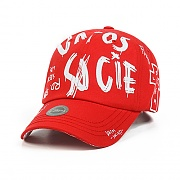 STIGMA FRANKLIN BASEBALL CAP RED