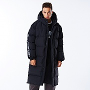 NSTK LINE BENCH PARKA BLACK