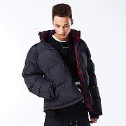 MAZE REVERSIBLE DOWN JACKET BLACK