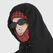 STRIPE BALACLAVA (RED)