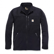(102838) M Fallon Full Zip Sweater Fleece-Black