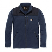 (102838) M Fallon Full Zip Sweater Fleece-Navy