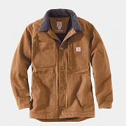 (102707) M Full Swing Chore Coat-Brown