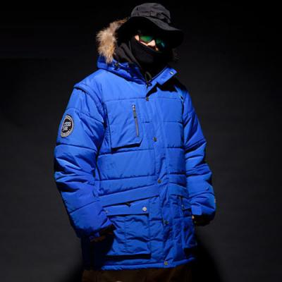 [ACCESSCODE] LIMITED JACKET_BLUE