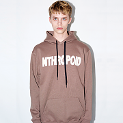 BROWN HOODY