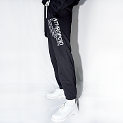 SIDE LETTERING PANTS(BLACK)