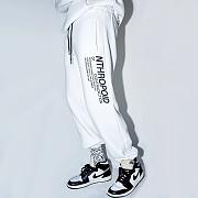 SIDE LETTERING PANTS(WHITE)