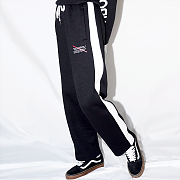LINE SWEAT PANTS(BALCK)