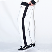 LINE SWEAT PANTS(WHITE)