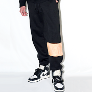 UNBALANCE SWEAT PANTS(BLACK)