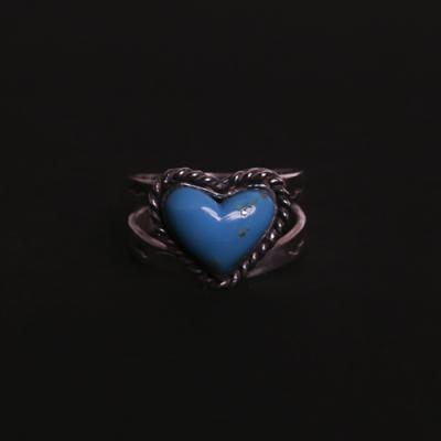 Heart Turquise Ring