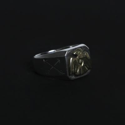 18k Thunderbird Ring