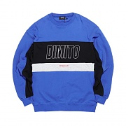 2018 DIMITO LINE PANELED SWEATSHIRTS ROYAL BLUE