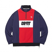 2018 DIMITO LINE HALF ZIP SWEAT LSV TEE NAVY