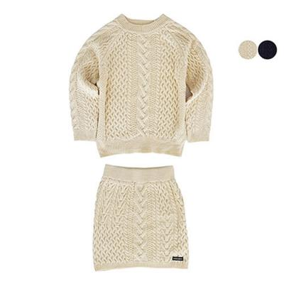 [SET]GBB CABLE SWEATER + GBB CABLE KNIT SKIRT*여성용