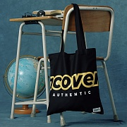 Signature logo eco bag-black