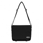 MESSENGER BAG IS [BLACK]