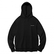 [ISVT31] OUTLINE LOGO HOODIE IS [BLACK]