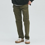 Double Pocket Fatigue Pants_khaki