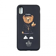 STIGMA PHONE CASE COMPTON BEAR BLACK iPHONE Xs / Xs MAX / Xr
