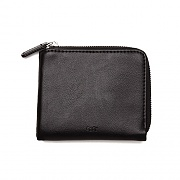 (100310110) GENTRY JUMBLE HALF ZIP WALLET-BLK