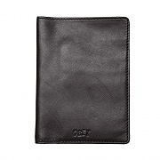 (100310103) VANDAL JUMBLE PASSPORT WALLET-BLK