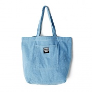 (100010103) WASTED TOTE BAG-DENIM