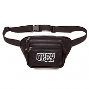 (100010102) BETTER DAYS PU WAIST BAG-BLK