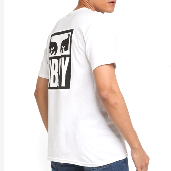 (163081874) OBEY EYES ICON TEE-WHT