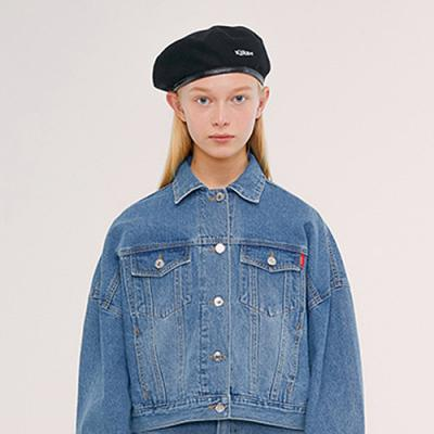 TRUCKER JACKET IS [BLUE]