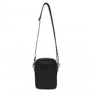 [ISVA04] LEATHER MINI BAG IS [BLACK]