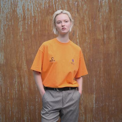UNISEX PROTO TYPE T SHIRTS YELLOW ORANGE