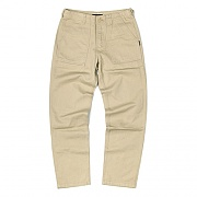 HEAVY FATIGUE PANTS-BEIGE