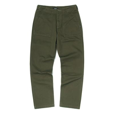 HEAVY FATIGUE PANTS-OLIVE