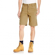 (102514) M RUGGED FLEX RIGBY SHORT-918 HICKORY