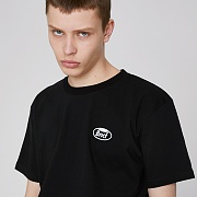 WHOLE GARMENT SMALL LOGO T-SHIRTS (BLACK)