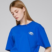 WHOLE GARMENT SMALL LOGO T-SHIRTS (BLUE)