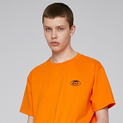 WHOLE GARMENT SMALL LOGO T-SHIRTS (ORANGE)