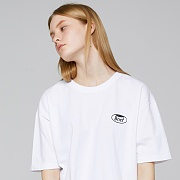 """WHOLE GARMENT SMALL LOGO T-SHIRTS (WHITE)"""