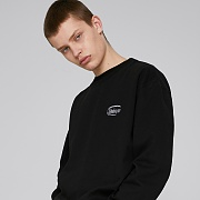 SIGNATURE LOGO SWEATSHIRTS (BLACK)