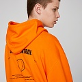 SELF CONTROL HOODIE (ORANGE)