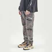 UTILITY POCKET CARGO PANTS GREY