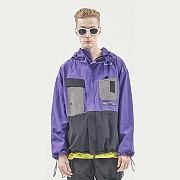 UTILITY POCKET WINDSTOPPER PURPLE