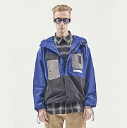 UTILITY POCKET WINDSTOPPER BLUE