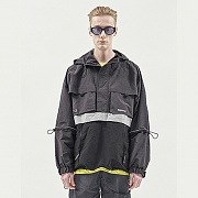 UTILITY POCKET ANORAK CHARCOAL