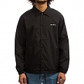 (I026317) CARHARTT SCRIPT COACH JACKET-BLACK/WAX
