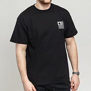 (I026409) STATE PATCH T-SHIRT-BLACK