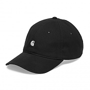 (I023750) MADISON LOGO CAP-BLACK/WHITE